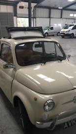 1970 Italian Fiat 500 L