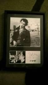 Punk iconic vintage 12x8 framed