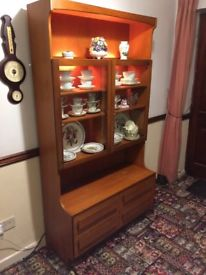 Dresser Display Cabinet (light coloured) FREE - Need Room