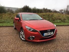 Mazda 3 2.2TD SKYACTIV-D 2014 Sport Nav *ONLY 42K MILES, FULL S/HISTORY*