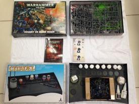 Children - Warhammer 40,000. Fantasy wargame battle and paint set, Games workshop.