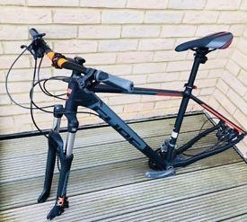 Cube Aim SL 29er 19'', Black/Flashred brand new mountain bike frame (et al) for sale