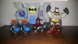 Batman cave buddy and car bundle