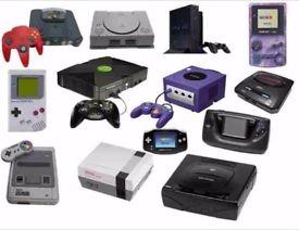 WANTED - ALL Old Computer Games and Consoles - Sega - Nintendo - PlayStation - Atari - SNES - NES
