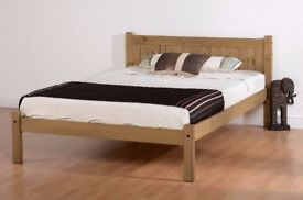 BZAMS BRAND NEW 4ft6 Double Bed in Pine
