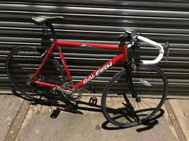 "Raleigh Airlite Gents Racer/Road Bike. 22"" Frame, Fully Serviced, Free D-Lock, Lights, Delivery"