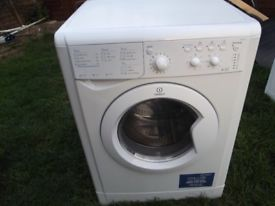 INDESIT WASHER DRYER 6kg WASH & 5kg DRY IN GOOD CLEAN WORKING ORDER 3 MONTH WARRANTY RRP NEW £299
