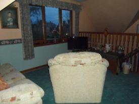 Fully furnished BedSit/Ensuite/Kitchen room available Central Elgin