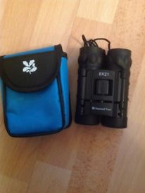 BRAND NEW NATIONAL TRUST BINOCULARS WITH CASE